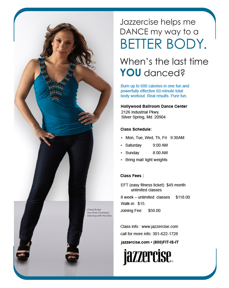 Jazzercise Classes in Silver Spring, MD