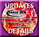 Dance Jam Productions West Coast Swing Friday Night Lessons and Dance