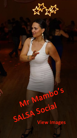 Images from Mr. Mambo's Salsa Social