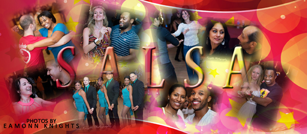 Salsa and Bachata on many Saturday nights at Hollywood Ballroom Dance Center