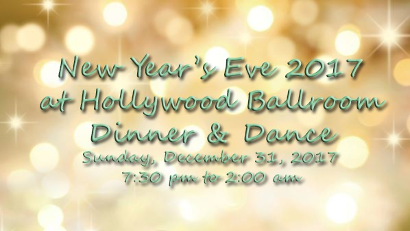 New Year's Eve Dinner & Dance at Hollywood Ballroom
