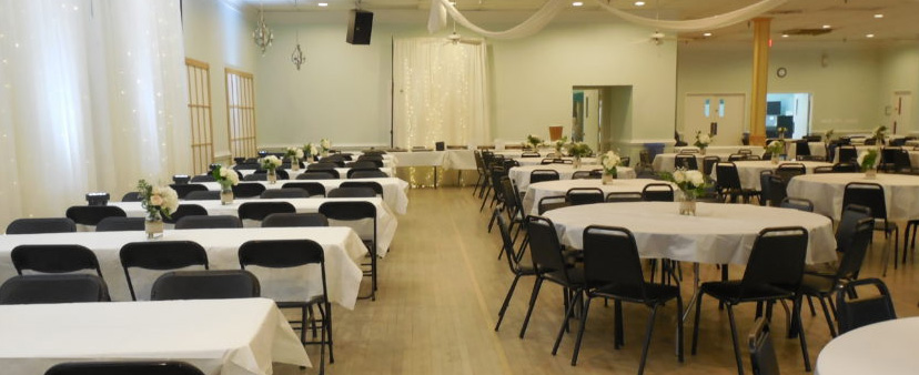 The Ballroom with simpler decorations