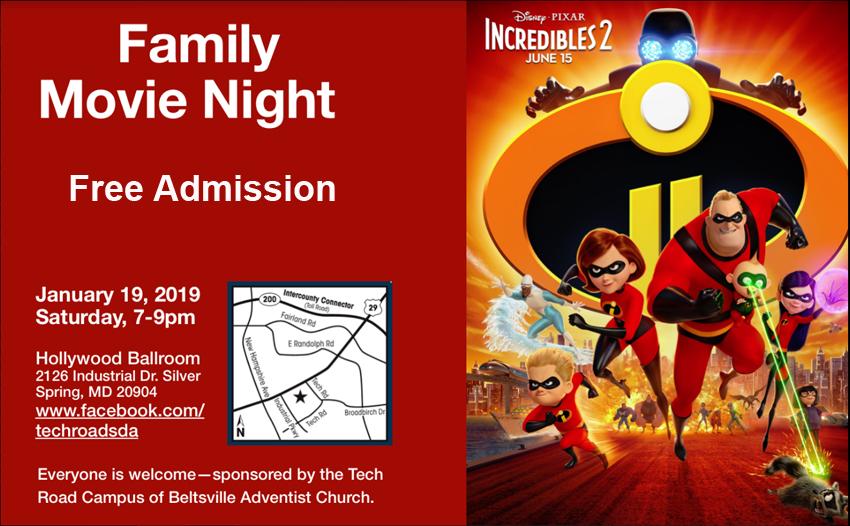 Free Family Night Movie